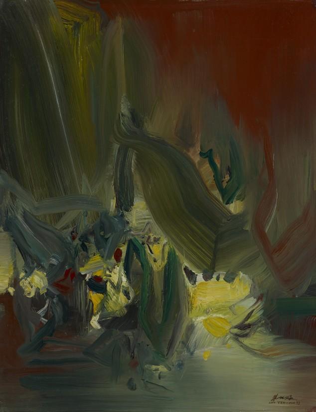 "<span class=""artist""><strong>Chu Teh-Chun</strong></span>, <span class=""title""><em>Untitled</em>, 1973</span>"