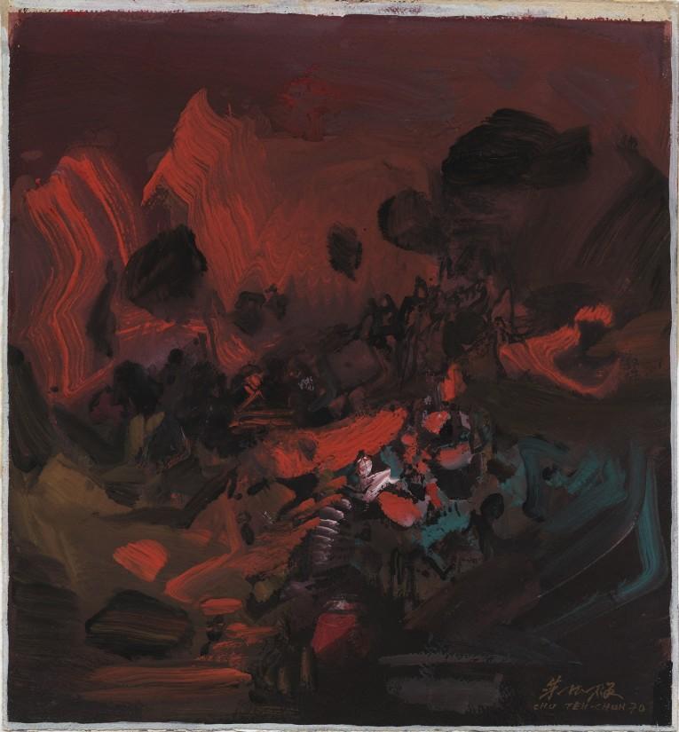 "<span class=""artist""><strong>Chu Teh-Chun</strong></span>, <span class=""title""><em>Untitled</em>, 1970</span>"