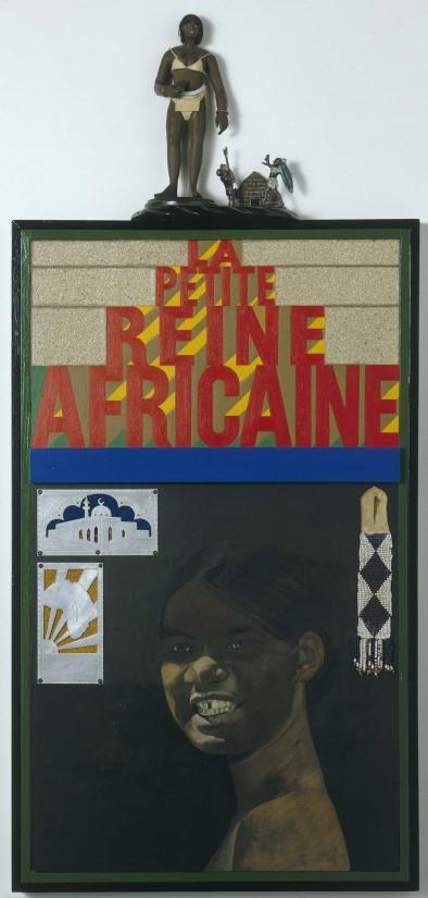 "<span class=""artist""><strong>Peter Blake </strong></span>, <span class=""title""><em>La Petite Reine Africaine </em>, 1984</span>"