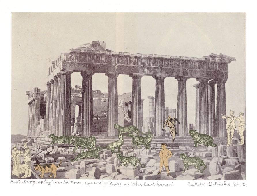 Autobiography. 'World Tour, Greece.' - 'Cats on the Parthenon.'