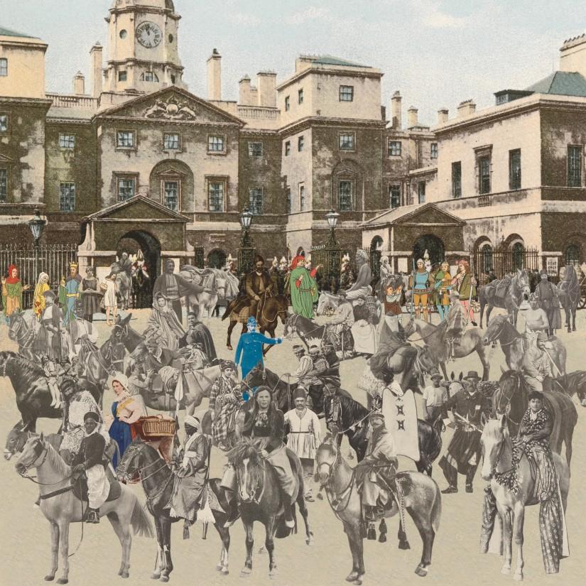 London: Horse Guards Parade - Horses and Horsemen