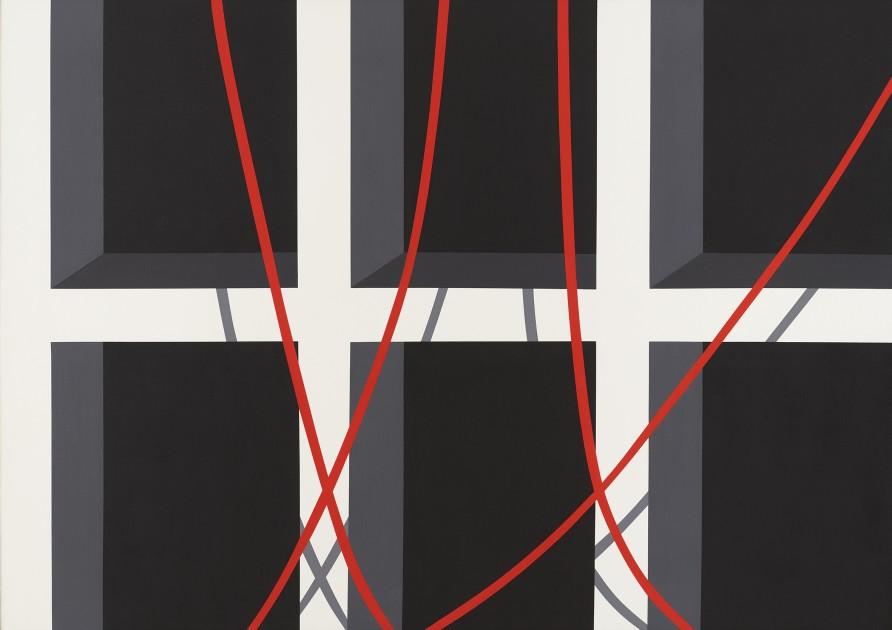 """<span class=""""artist""""><strong>Allan D'Arcangelo</strong></span>, <span class=""""title""""><em>Cave</em>, 1974</span>"""