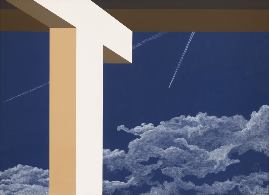 """<span class=""""artist""""><strong>Allan D'Arcangelo</strong></span>, <span class=""""title""""><em>Without Sound Two</em>, 1982</span>"""