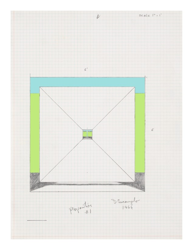 "<span class=""artist""><strong>Allan D'Arcangelo</strong></span>, <span class=""title""><em>Study for Proposition #1</em>, 1966</span>"