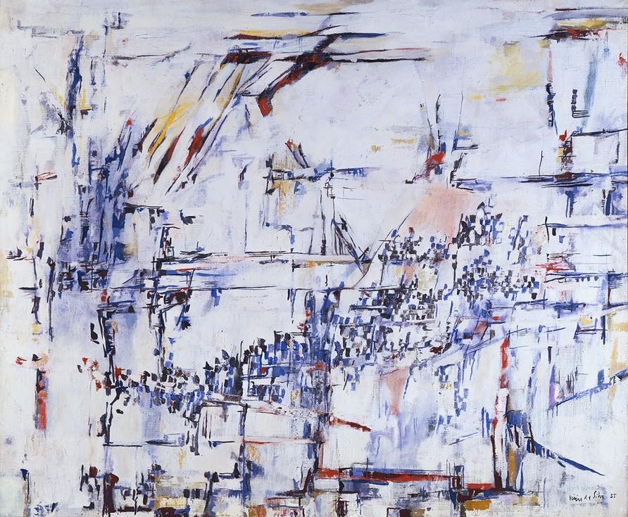 "<span class=""artist""><strong>Maria Helena Vieira da Silva</strong></span>, <span class=""title""><em>Sans titre </em>, 1955</span>"
