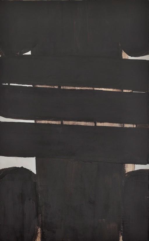 Peinture 202 x 125 cm, 25 novembre 1975