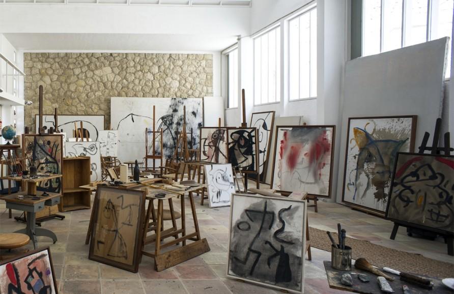 Inside the Mallorca studio