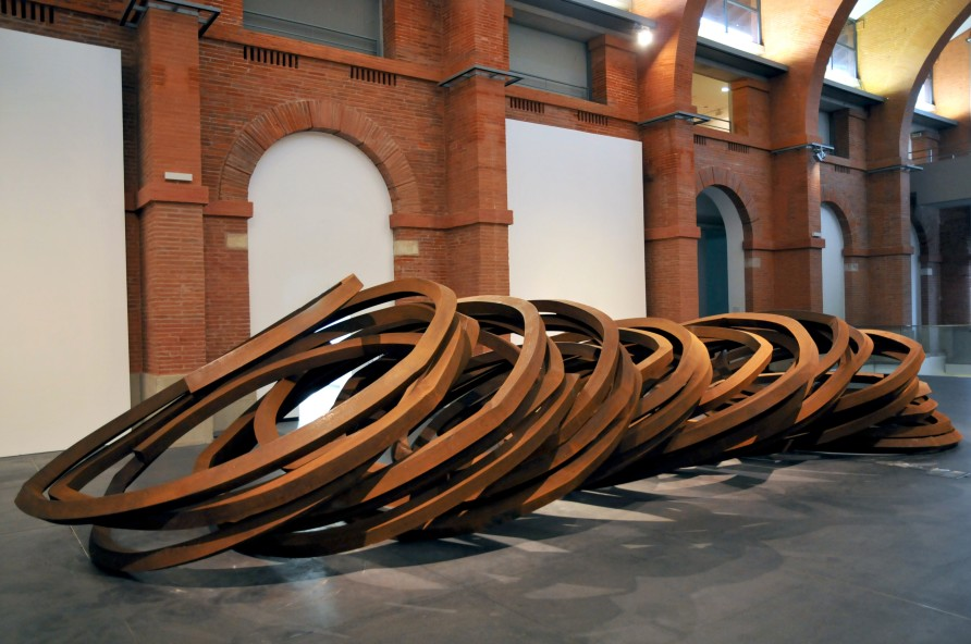 Effondrement: Eight Indeterminate Lines at Les Abattoirs, Toulouse, 2010