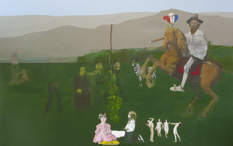 <strong>Peter Blake</strong>, <em>Once Upon a Time</em>, 1963-
