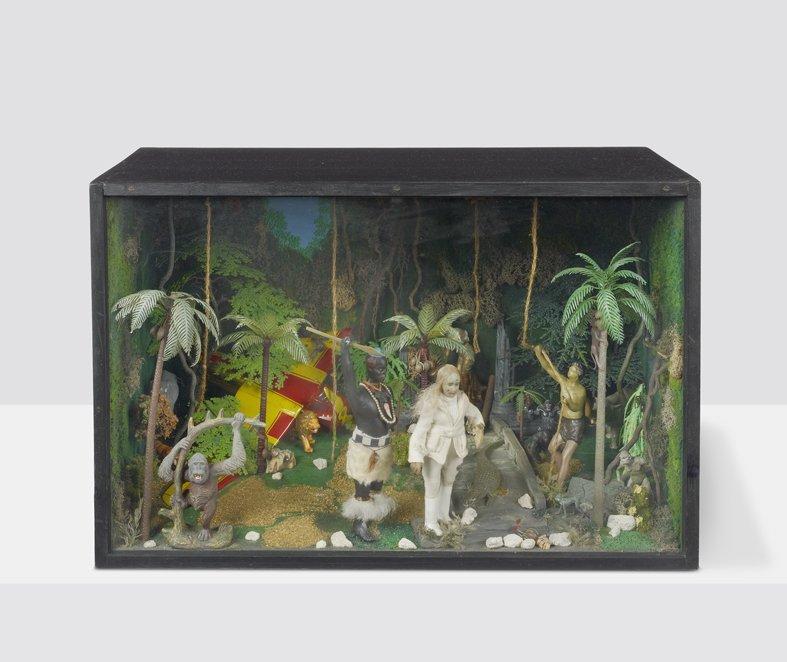 <strong>Peter Blake</strong>, <em>Tarzan Box</em>, c.1965