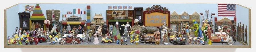 <strong>Peter Blake</strong>, <em>A Parade for Saul Steinberg</em>, 2007-2012