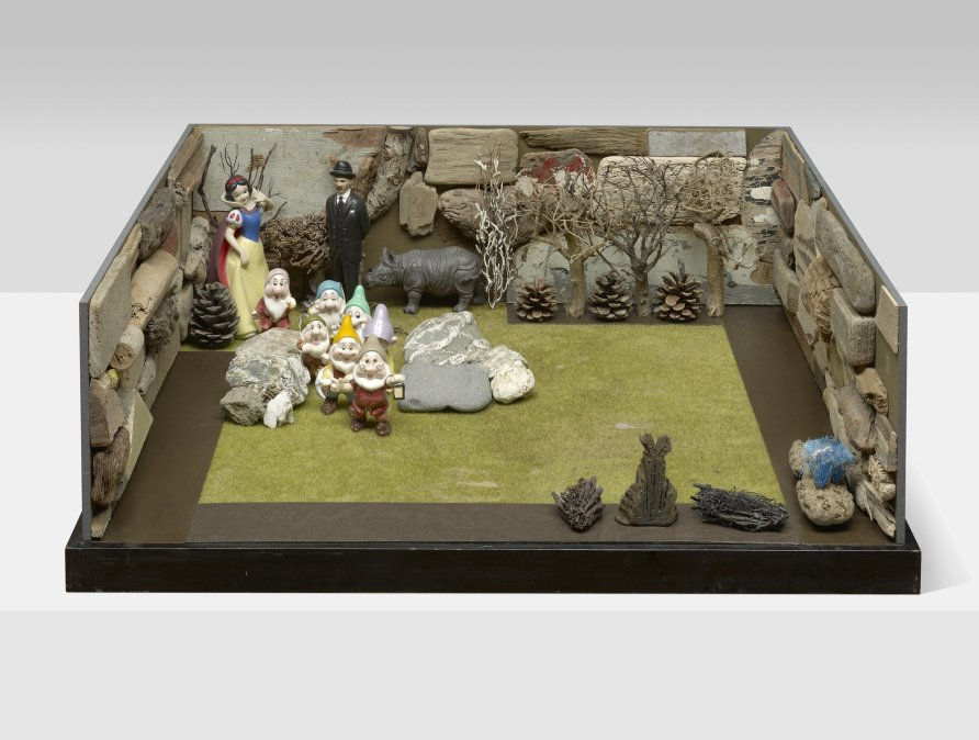 <strong>Peter Blake</strong>, <em>The Surrealist Shows Snow White his Garden</em>, 2007-2012