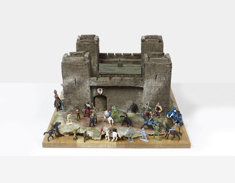 <strong>Peter Blake</strong>, <em>Fort: Siege</em>, 2012