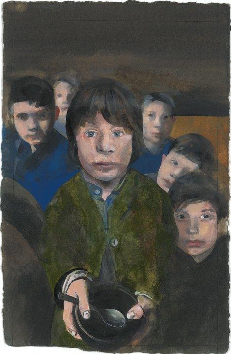 <strong>Peter Blake</strong>, <em>Oliver Twist</em>, 2010