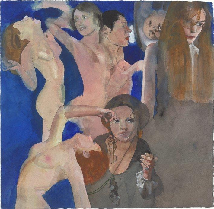 <strong>Peter Blake</strong>, <em>Fairies: Night</em>, 1982-