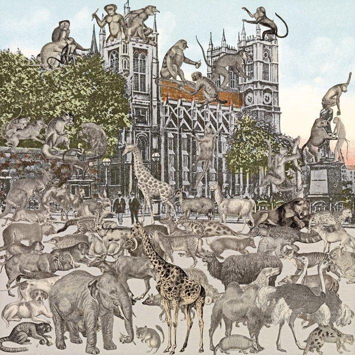 <strong>Peter Blake</strong>, <em>London: Westminster Abbey - Animalia</em>, 2012