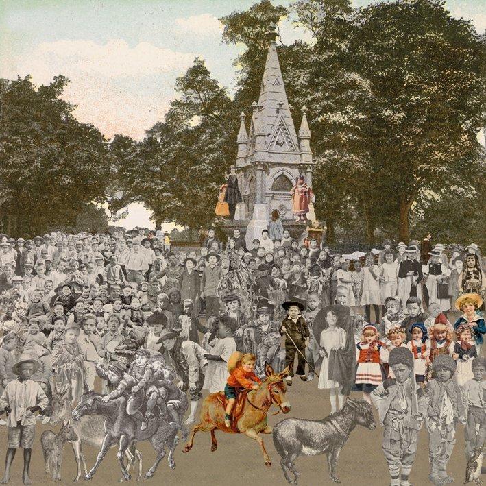 <strong>Peter Blake</strong>, <em>London: Regent's Park - The Runaway Donkeys</em>, 2012