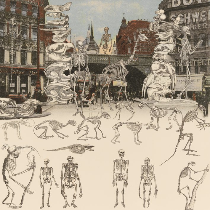 <strong>Peter Blake</strong>, <em>London: Ludgate Circus - The Day of the Skeletons</em>, 2012