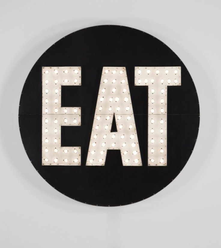 <strong>Robert Indiana</strong>, <em>THE ELECTRIC EAT</em>, 1964-2007
