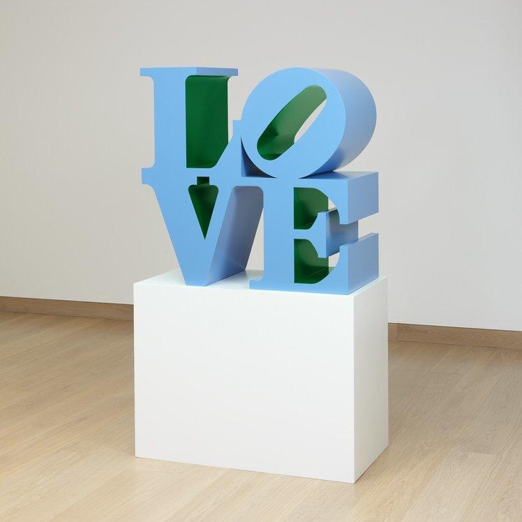 LOVE (Blue outside Green inside)
