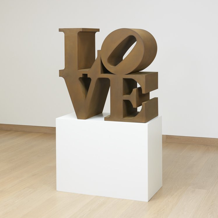 <strong>Robert Indiana</strong>, <em>LOVE</em>, 1966-1999