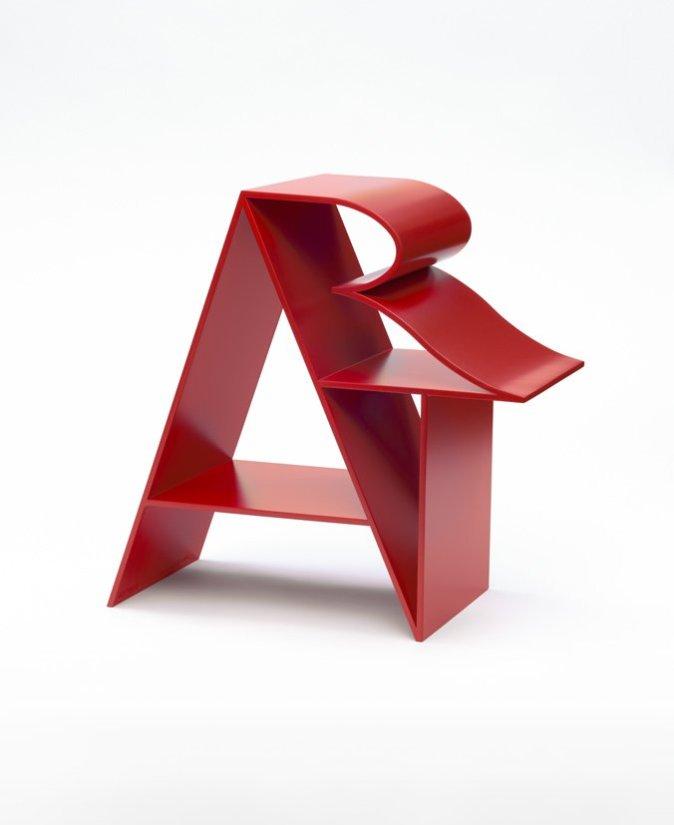 <strong>Robert Indiana</strong>, <em>ART (Red)</em>, 1972-2000