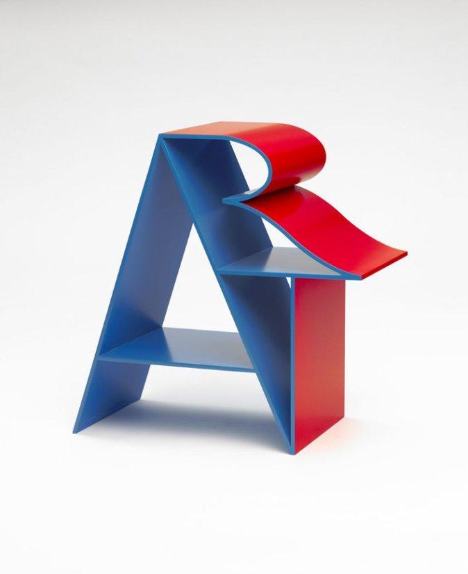 <strong>Robert Indiana</strong>, <em>ART (Blue Red)</em>, 1972-2001