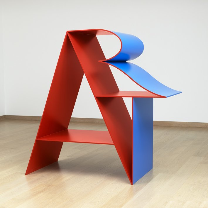 <strong>Robert Indiana</strong>, <em>ART (Red Blue)</em>, 1972-2001