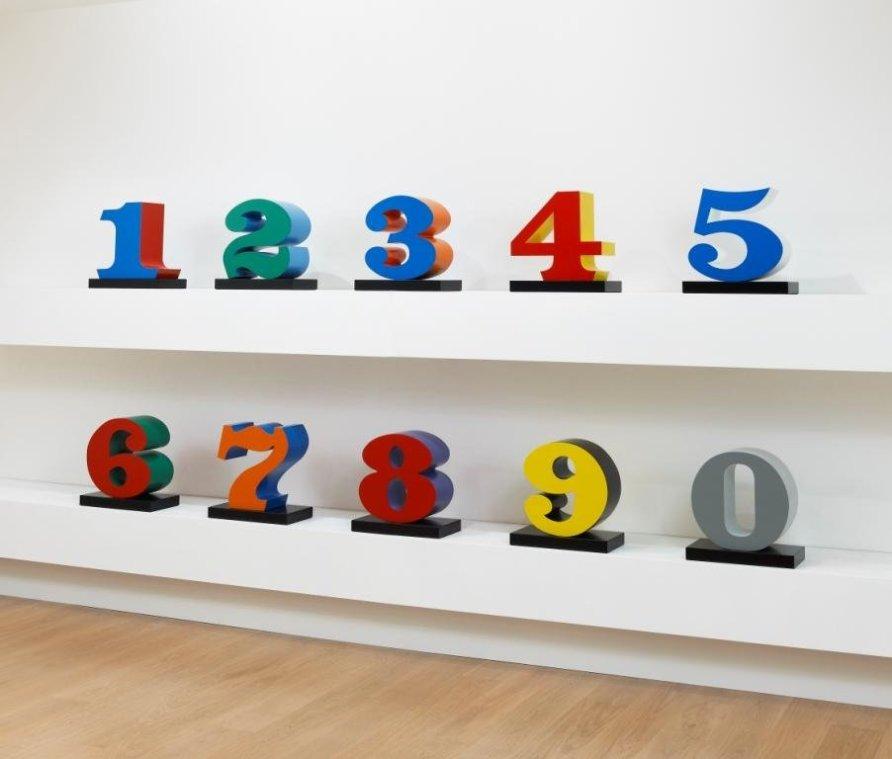 <strong>Robert Indiana</strong>, <em>ONE THROUGH ZERO (The Ten Numbers)</em>, 1978-2003