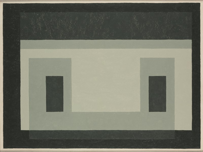<strong>Josef Albers</strong>, <em>Variant / Adobe: ''Marble Inlay''</em>, 1958