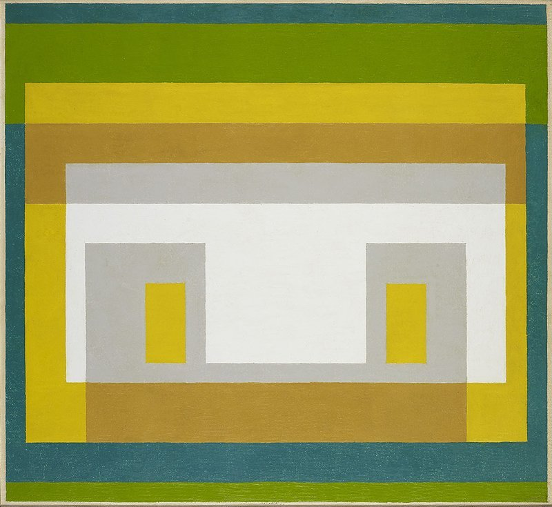 <strong>Josef Albers</strong>, <em>Variant</em>, 1947-55