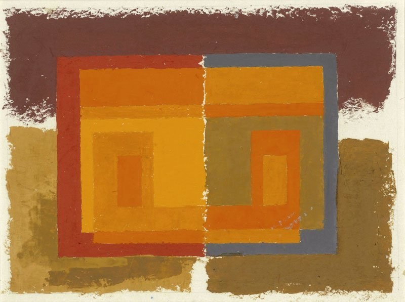 <strong>Josef Albers</strong>, <em>Untitled</em>, c.1947