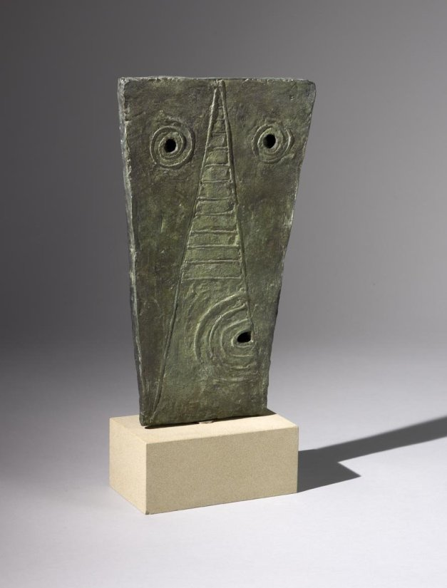 <strong>William Turnbull</strong>, <em>Mask</em>, 1946