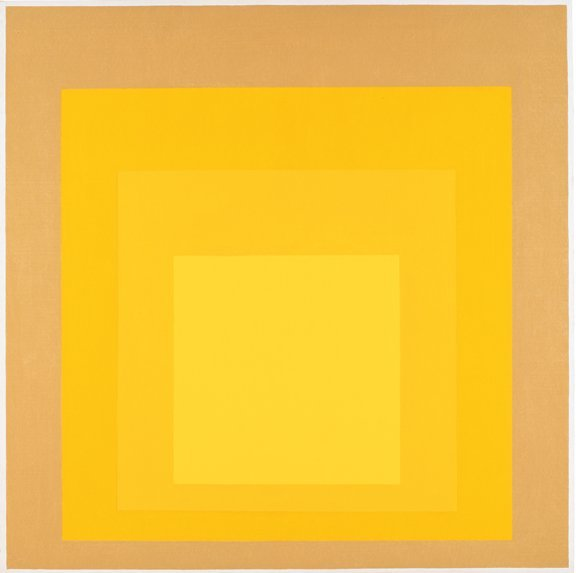 <strong>Josef Albers</strong>, <em>Homage to the Square: Started</em>, 1969