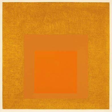 <strong>Josef Albers</strong>, <em>Homage to the Square: 'Golden'</em>, 1957