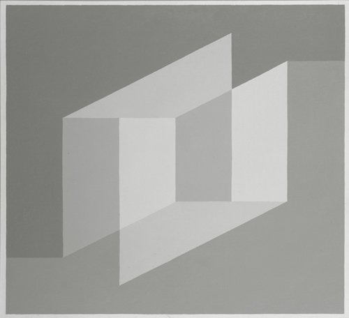 <strong>Josef Albers</strong>, <em>Study for 'Never Before'</em>, 1971