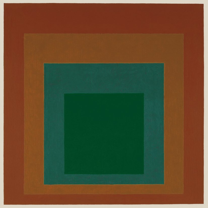 <strong>Josef Albers</strong>, <em>Homage to the Square: 'Thicket'</em>, 1961