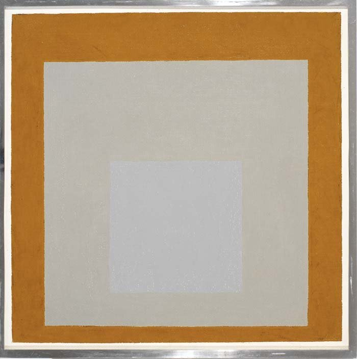 <strong>Josef Albers</strong>, <em>Homage to the Square</em>, 1965