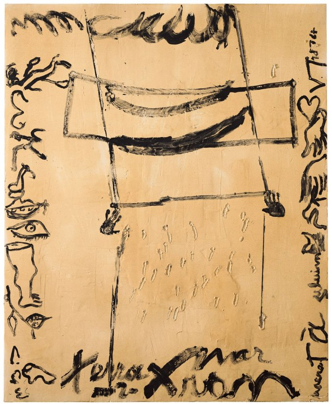 <strong>Antoni Tàpies</strong>, <em>Escrits i formes sobre matèria (Writings and forms on matter)</em>, 2009