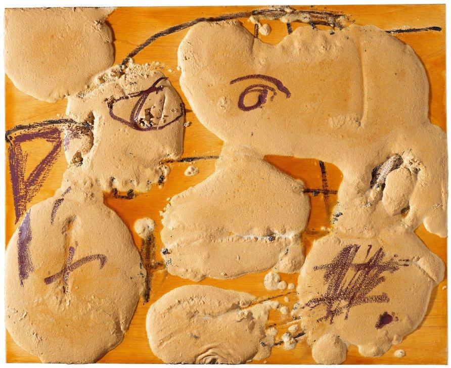 <strong>Antoni Tàpies</strong>, <em>Protuberancies (Protuberances)</em>, 2009