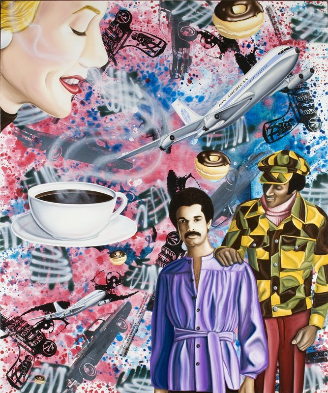 <strong>Kenny Scharf</strong>, <em>Black Coffee</em>, 2008