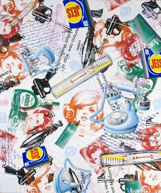 <strong>Kenny Scharf</strong>, <em>Gail</em>, 2008