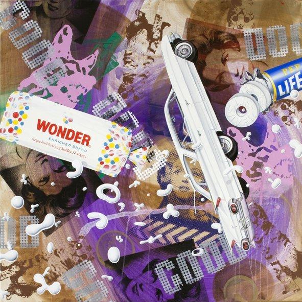 <strong>Kenny Scharf</strong>, <em>Wonderful</em>, 2008