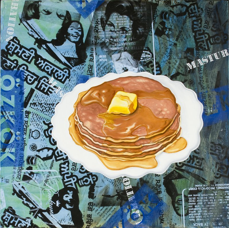 <strong>Kenny Scharf</strong>, <em>Hotcakes</em>, 2008