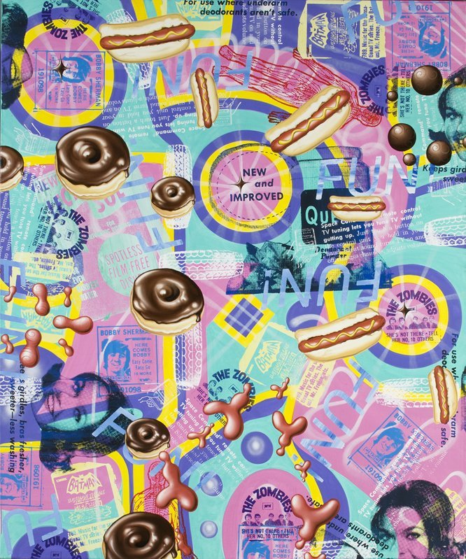 <strong>Kenny Scharf</strong>, <em>The All-New and Improved Fun!</em>, 2008