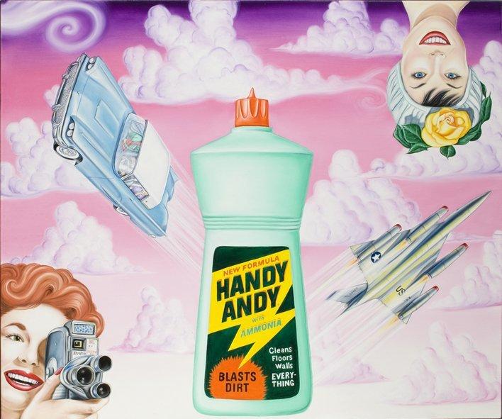 <strong>Kenny Scharf</strong>, <em>Handy Andy</em>, 2008