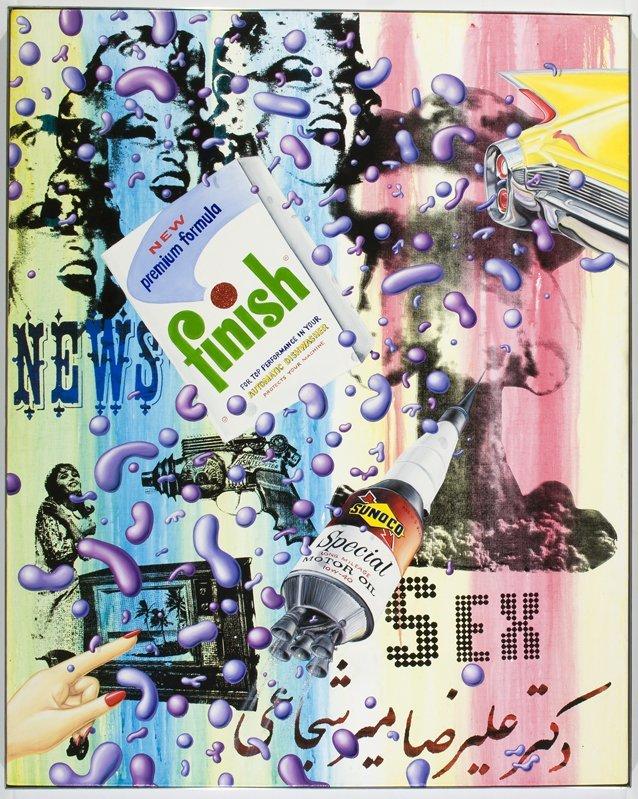 <strong>Kenny Scharf</strong>, <em>Sex Bomb</em>, 2008