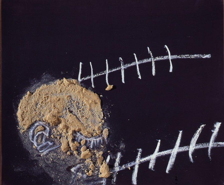 <strong>Antoni Tàpies</strong>, <em>Cap / Head</em>, 2007