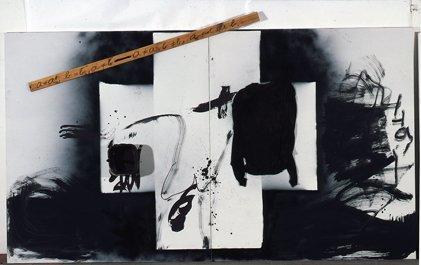 <strong>Antoni Tàpies</strong>, <em>a = a</em>, 2005