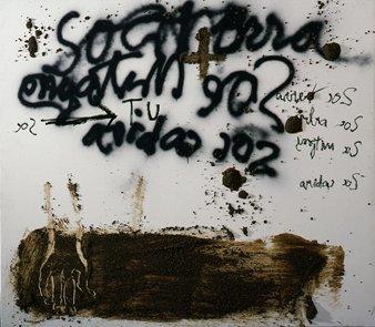 <strong>Antoni Tàpies</strong>, <em>Sóc terra / I am earth</em>, 2004